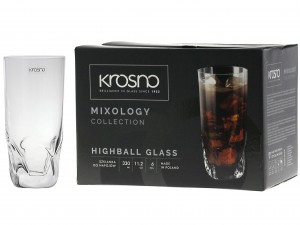 KROSNO MIXOLOGY SZKLANKA LONG DRINK 330 ml