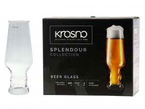 KROSNO SPLENDOUR SZKLANKA DO PIWA 400 ML At. 78861